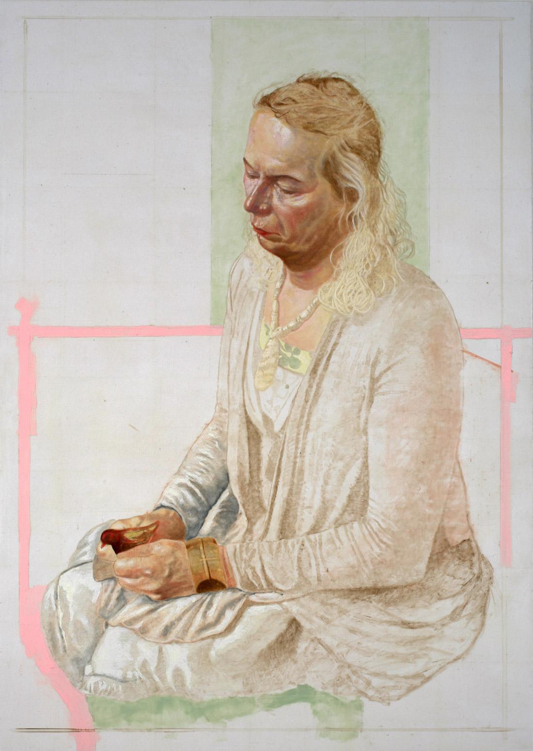 Franz von Assisi / Verena, 2012, 138 x 98 cm